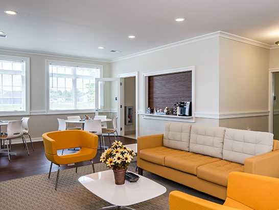 Clinton Circle Apartments, Community Room Interior