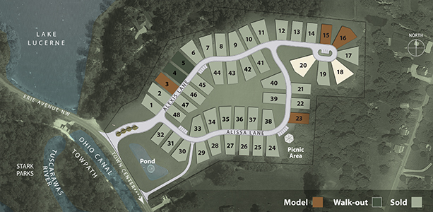 Fulton Landings Site Plan